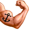 Muscles emoticon