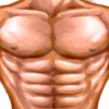 Man's chest emoticon